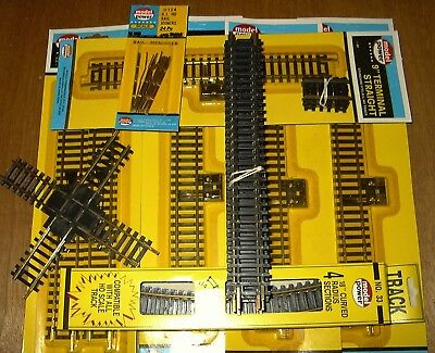 HO SCALE TRAINS BRASS TRACK PACK COMPATIBLE WITH ATLAS & BACHMANN NEW