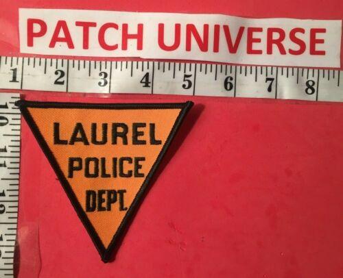 LAUREL  MD POLICE  SHOULDER PATCH  S119