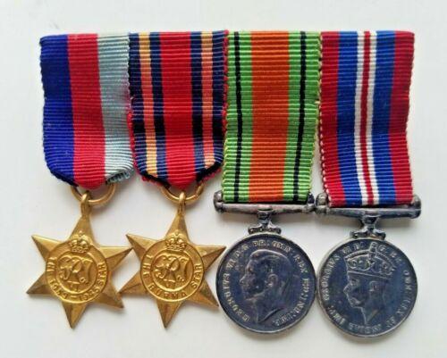 Original WW1 British Army Military Mini Medals
