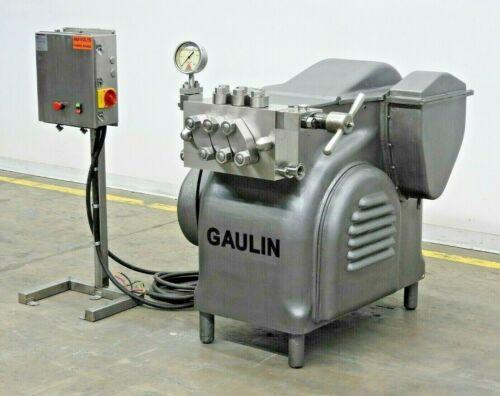 Gaulin DE6 Single Stage Homogenizer, 3000psi, 400GPH