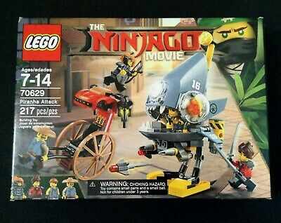 NEW LEGO Building Set NINJAGO Movie 70629 PIRANHA Attack Misako Kai Ray Minifigs
