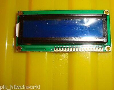 Hd 44780 2x16 Character Lcd Blue Backlight 5v Hitachi Lcd