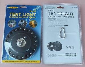 UFO type 23 LED Tent Light with Carabiner - Brand new South Wentworthville Parramatta Area Preview