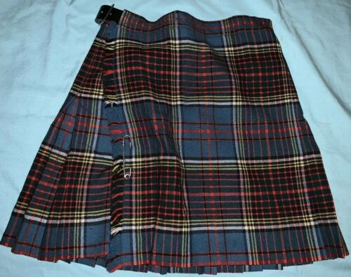 VINTAGE Pure Wool Woven in Scotland THE SCOTCH HOUSE Skirt Sz 14 *US 5/6 or 6/7*