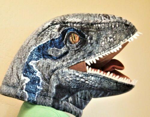 NEW Dinosaur Velociraptor HEAD Costume Mask Jurassic World Dan Dee Big Greeter