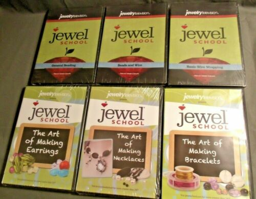 LOT OF 6 JEWEL SCHOOL DVD