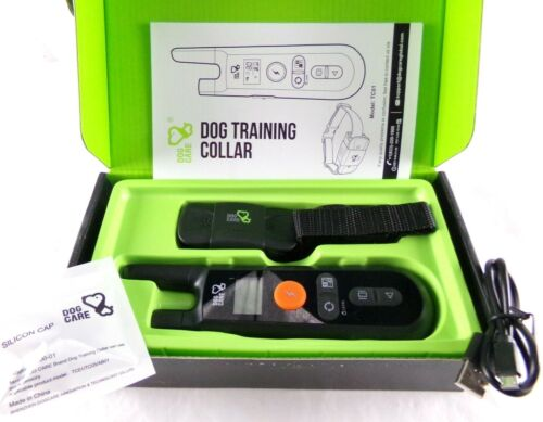 Dog Training Collar - Rechargeable Dog Shock Collar w/3 Training Modes Mod. TC01