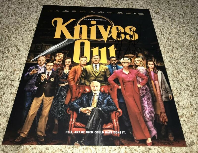 Michael Shannon Signed Knives Out 11x14 Photo With Proof