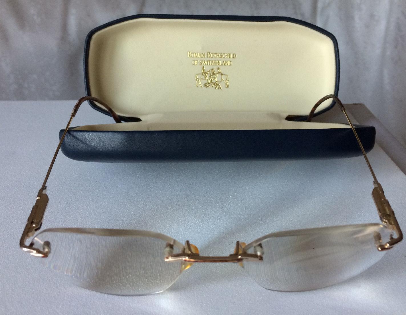 ROTHSCHILD Brille randlos Brillenfassung Switzerland eyeglasses occchiali mit Et
