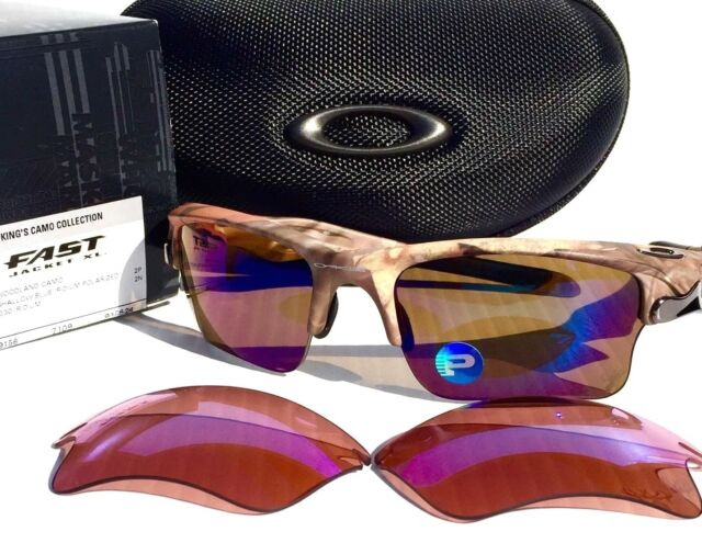 oakley fast jacket xl golf sunglasses  oakley fast jacket polarized shallow water golf woodland angler 9156 24