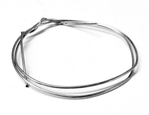 "Silver Solder Wire Medium 70% Silver Jewelry Making Soldering & Repair 12"" 20ga"
