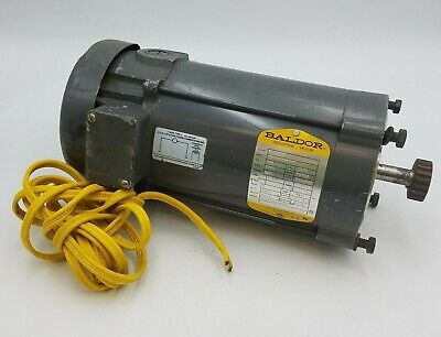 34hp Baldor Cdp3436 Direct Current Industrial Motor Tefc 56c 180v 3.7a 1750rpm
