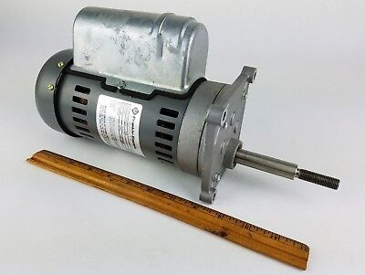 Franklin Electric Motor 308 Rpm 220 Volt - High Torque Slow Speed Geared Reducer