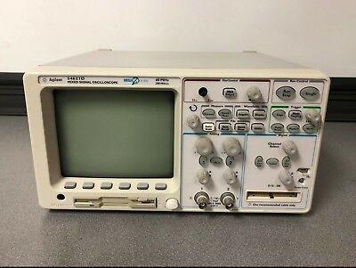 Agilent Oscilloscope 60 Mhz 200msas 54621d