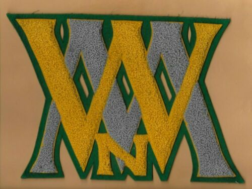 1930 1940s William & Mary Norfolk Division Letterman Patch Old Dominion Virginia
