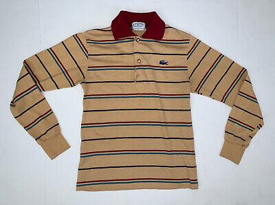 Vintage 80's Lacoste Izod Boys Polo Long Sleeve Shirt Size 14