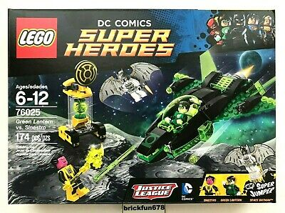 Lego DC Superheroes 76025 Green Lantern vs. Sinestro Space Batman New In Box