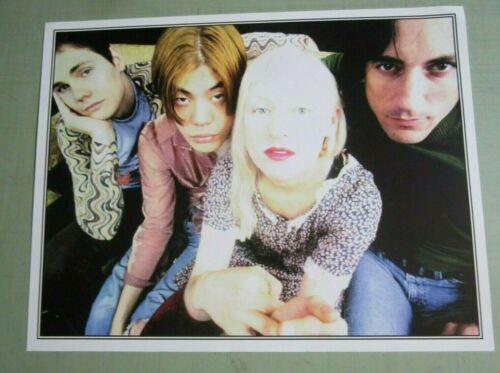 Smashing Pumpkins 1993 Original 2-Sided Siamese Dream Promo Poster Flyer