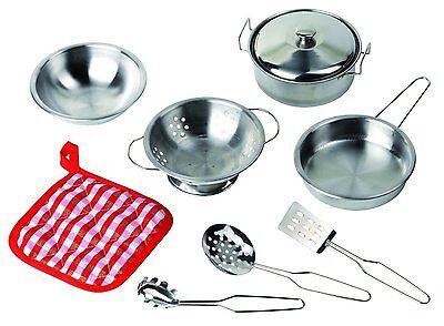 Kochset Goki 51730 - Küchenspielzeug - 9 Teile Töpfe & Zubehör NEU & OVP