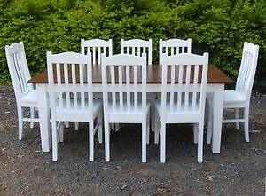 Brand New Awesome 8 Seater Dining Table - Recycled Timber Peachester Caloundra Area Preview