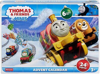 Fisher-Price Thomas & Friends MINIS Advent Calendar 24 Engines - New for 2020!