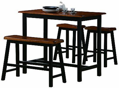 - Counter Height Tall Table Set/Dining Room/Kitchen Nook/Breakfast/Transitional