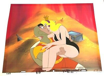 Dragon's Lair (1983) Production Cel Don Bluth arcade animation Dirk Daphne art