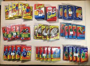 Topps Football Wax Pack Box 1977 1978 1979 1980 1981 1982 1983 1984 PICK ONE
