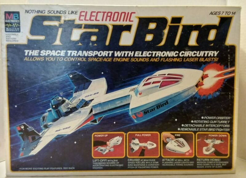 Star Bird Electronic Space Transport by Milton Bradley 1978