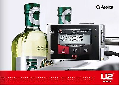 Bottle Printing Machine Expiry Dates Batch Codes Counters Lot Codes Time Stamps