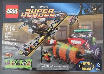 Lego 76013 - Super Heroes - Batman - The Joker Steam Roller - Retired - NISB