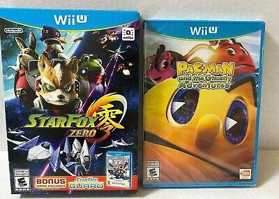 Pac-Man and the Ghostly Adventures Nintendo Wii U & Star Fox Zero,Star Fox Guard
