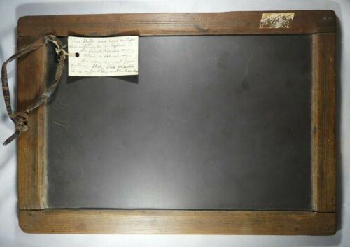 Writing Slate Owned & Used by Captain Daniel P Taylor during American Revolution