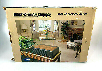 Carrier 4 Way Electronic Air Cleaner Home Air Purificaiton 31TT Vintage