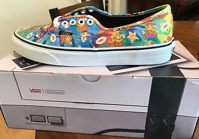 New VANS Authentic Nintendo Super Mario Bros. $140