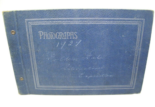 1939 Golden Gate International Exposition Photo Album 76 Identified Photographs