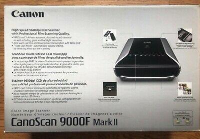 Canon flatbed scanner Scan9000F MarkII With Professional Film Scanning Quality