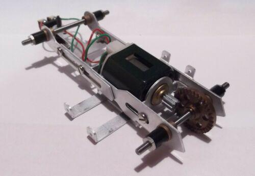 1/24 Slot Car Garvic Adjustable Aluminum Chassis New Old Stock