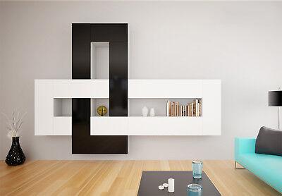 Brin 1 - modern living room entertainment center / wall unit for tv / tv