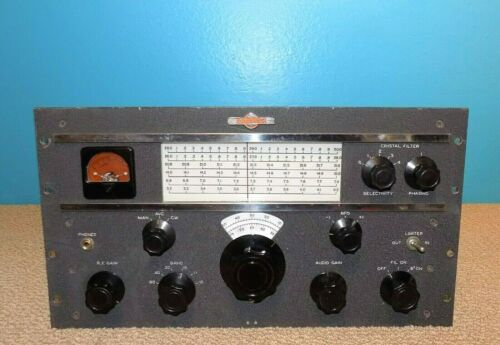 Collins 75A-1 Ham Radio Receiver Nice Condition Free Shipping