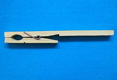 3pcs Laboratory Test Tube Holderclamp Bamboo Chemistry Experiment Equipment