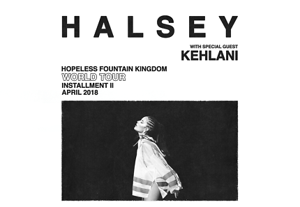 Halsey Melbourne GA Tickets (2 tickets available)