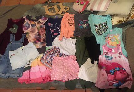 Kids clothes bulk (size 7-8) Tinker Bell, Trolls, Lee Cooper