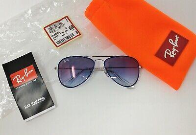 Ray-Ban® AVIATOR JUNIOR RJ9506S 276/X0 Kids Sunglasses BLUE GRADIENT MIRROR (Aviator Junior)