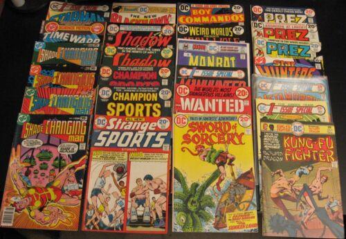 "Wow! BIG Lot of *50* HI-GRADE Early/Mid 70s/Bronze DC Comics! Heroes+""2nd Tier"""