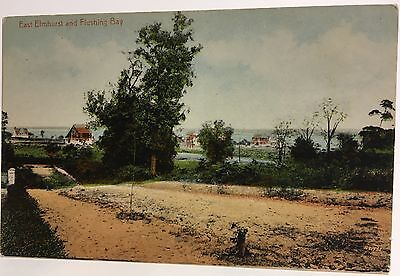 Queens ~ New York City NY ~ Elmhurst and Flushing Bay ~ Early Postcard View - Elmhurst Queens