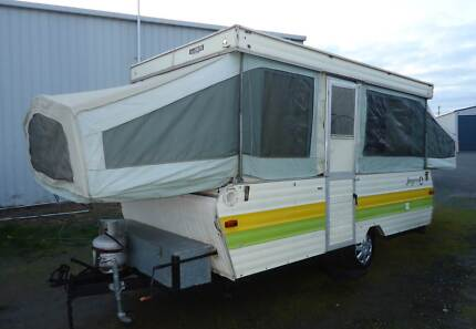 Jayco Camper Caravan Poptop, Long Reg. Wendouree Ballarat City Preview