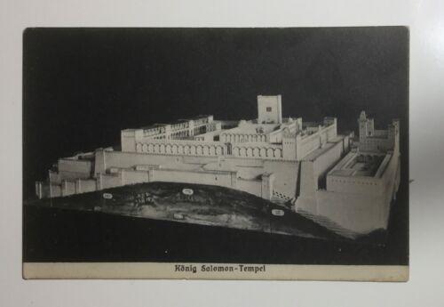 Vtg PC CONRAD SCHICK King Solomon's Temple Jerusalem Israel architectural model