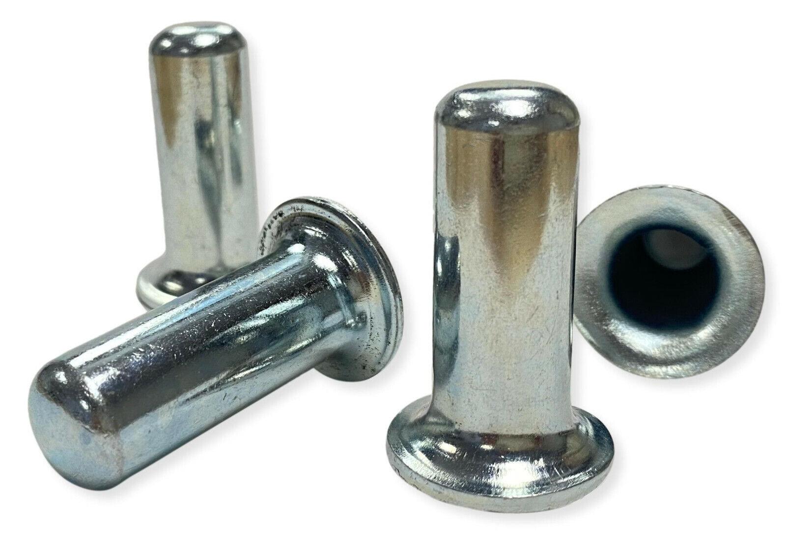 Steel Friction Grip Metal Caster Socket Inserts, 9/16″ OD – Set of 4 Business & Industrial