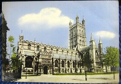 England Gloucester Cathedral from the south - unposted